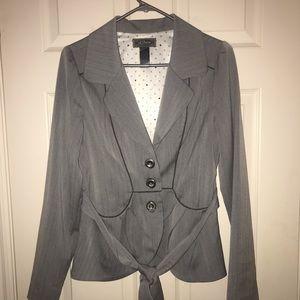 Grey professional blazer